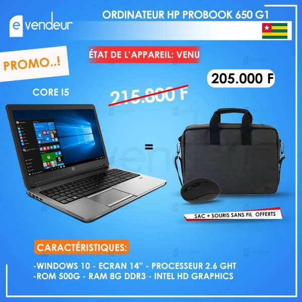 Ordinateur HP PROBOOK 650 G1
