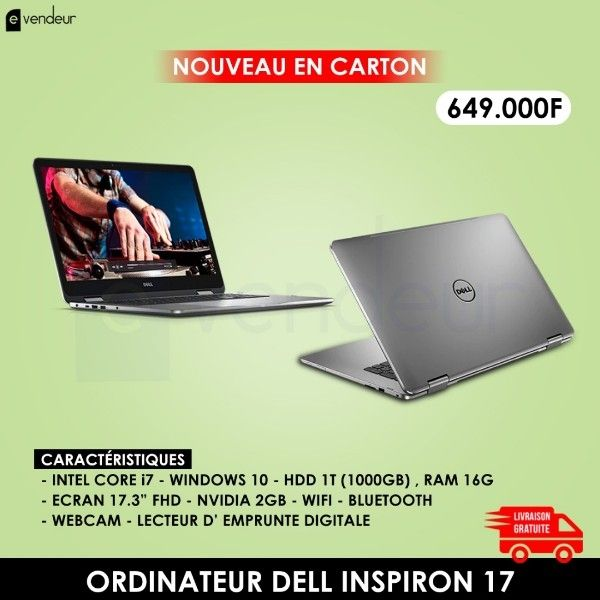 ORDINATEUR DELL INSPIRON 17